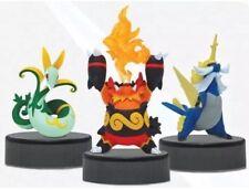 Pokemon Black & White 2 Inch Figure Emboar, Samurott, and Serperior Mini PVC F/S