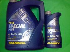 6 L MANNOL special plus 10w-30 API SL/CF Huiles De Vidange D'Huile 10w30 ACEA a3/b3 GM Jeep