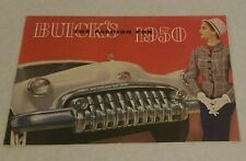 1950 Buick THE FASHION FOR 1950  Brochure/Pamphlet