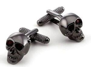 Shotgun Cartridge Bullet on Chain Cufflinks in Gift Box Onyx-Art London CK446
