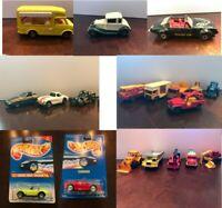 Lot of 19 Vintage Kidco, Zylmex, Matchbox, Majorette, Hot Wheels