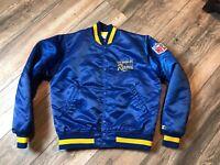 1980's Los Angels Rams Starter Satin Jacket Men's Medium Double Sided Logo's