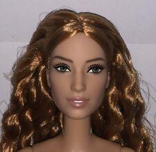 Barbie Justice League Mera NUDE Auburn Articulated Doll NEW for OOAK Amber Heard