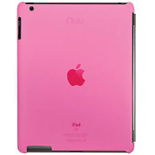 Transparent Pink Nuu BaseCase Base Case use with smart Cover for iPad 2 & 3