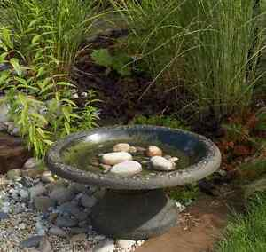 Wildlife World Coniston Bird Bath Durable Stone Effect