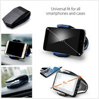 Car Plastic Mount Holder Dock Stealth Stand Cradle For Smart Phone iPhone Galaxy