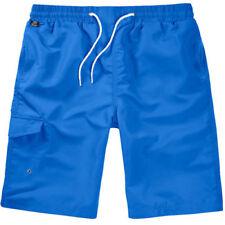 Pantalones cortos de hombre azul de poliéster
