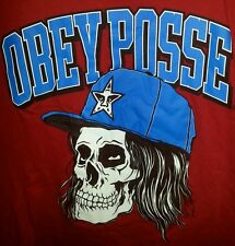 Obey  t shirt for men  large skater urban hip hop
