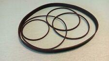 Riemen-Set für PIONEER CT-F600 Tapedeck Cassette Tape Deck Rubber Belts Belt-Kit