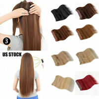 US STOCK-FAST Hidden Halo Invisible Wire Weft 100% Remy Human Hair Extension