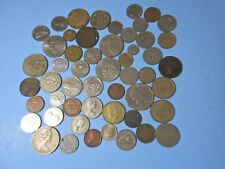 Lot 1920S-1990S Of Foreign Canada Coins & Other Countries
