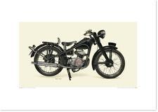 Realistic Artwork Honda 1951 Honda Dream E by Seevert Works