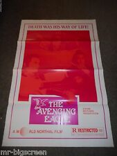 THE AVENGING EAGLE - ORIGINAL TRI-FOLDED POSTER - 1978 - RUN RUN SHAW