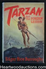 Tarzan and the Foreign Legion by Edgar Rice Burroughs (First)(Contemporary Jacke