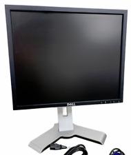 DELL Ultrasharp 1908 Computer Monitor Bildschirm Screen Display Silber VGA DVI