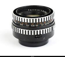 Lens aus JENA   Zebra  Pancolar 1.8/50mm  No8545407 for Contax S Pentax M42
