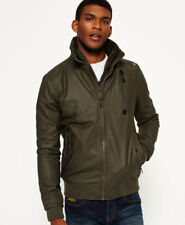 New Mens Superdry Moody Ripstop Bomber Jacket Darkest Army