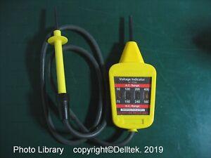 Martindale V1 13700 AC DC Voltage Indicator AVI 600V Fused 500mA (Case included)