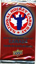 95 PACK LOT 2012 UPPER DECK NATIONAL HOCKEY CARD DAY CANADA SEALED