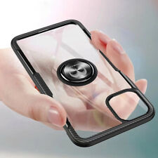 For iPhone 11 11 Pro 11 Pro Max Clear Ring Case Shockproof Protective Back Cover