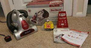 Dirt Devil Handy Cyclonic 900 Portable Vacuum Cleaner Car Hoover Stairs Caravan