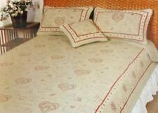 French Country Vintage Inspired Patchwork Bed Quilt Amour Queen RRP $220 New