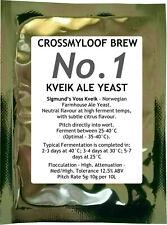 Kveik Beer Yeast Norwegian Farmhouse Ale. Home Brew Sigmund Voss Brewing (Kviek)