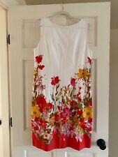 Chetta B Floral Dress Size 14