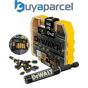 Dewalt 15 Piece Impact Extreme PZ2 Pozi Screwdriver Bits + Magnetic Bit Holder