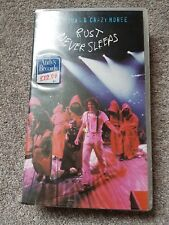 NEIL YOUNG AND CRAZY HORSE RUST NEVER SLEEPS VHS
