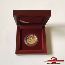 1935 ~ 20 Francs. Switzerland Vreneli Helvetia Gold Coin. With box.