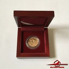 1935 ~ 20 Francs. Switzerland Vreneli Helvetia Gold Coin. With box.