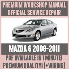 *WORKSHOP MANUAL SERVICE & REPAIR GUIDE for MAZDA 6 2008-2011 +WIRING