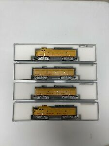KATO N Scale Union Pacific F-3 A-B-B-A DC Locomotives