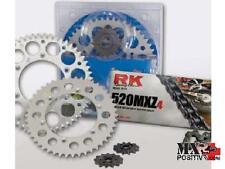 KIT TRASMISSIONE HONDA CRF 250 R 2010 RK EXCEL 520H4063K210C Z13-48