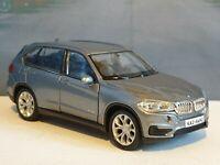 BMW X5 in GREY 1.38 DIECAST MODEL CAR PERSONALISED BIRTHDAY BOXED NEW BOYS TOYS