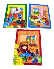 Canovacci da cucina multicolore