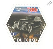 1946 ZIS-115 (Joseph Stalin's Armoured ZIS-110) Russian Car (Hexagonal) Stamp