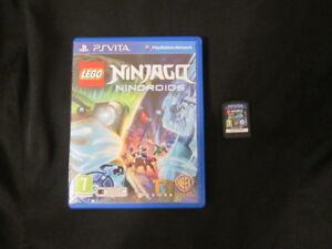 PSVita : LEGO NINJAGO : NINDROIDS - Completo, ITA ! PS VITA ! Dai 7 anni in su