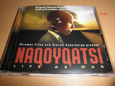 NAQOYQATSI - LIFE AS WAR soundtrack CD score PHILIP GLASS yo-yo MA
