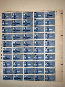 US Stamps SC# C49 Air Force 6c sheet of 50 MNH 1957