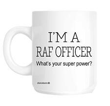 RAF Officer Funny Gift Mug shan308