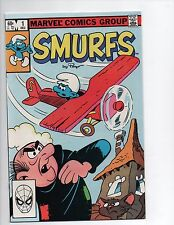 Smurfs #1 December 1982 Marvel Comics