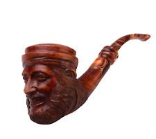 Hell's Chamber! DESIGNER Rauchpfeife Tabak [ Bruyère Holz ] Handgeschnitzt Figur