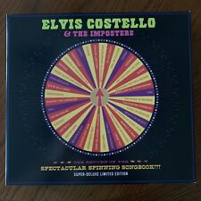 "Elvis Costello Imposters SIGNED Spinning Songbook Box Set 10"" Vinyl Record"