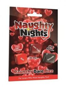 Naughty Nights Dare Dice - Raunchy or Erotic
