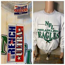 Vintage Philadelphia Eagles Trench USA made Sweatshirt Crewneck Deadstock RARE