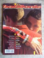 BABILONIA mensile gay e lesbico n.149 novembre 1996 - Carmen Covito, Kiev, Tatto