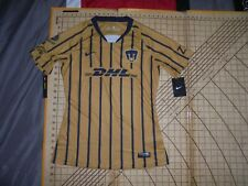 WOMENS SMALL BLUE/GOLD NIKE MEXICO SOCCER JERSEY - NWT
