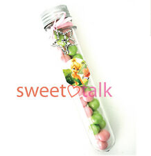TINKERBELL PARTY FAVOUR, TEST TUBE & CHOCOLATES LOLLY STICK, GIRL PARTY LOOT BAG